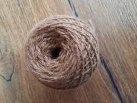 Strickwolle 100 g braun