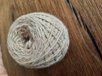 Strickwolle 100 g beige