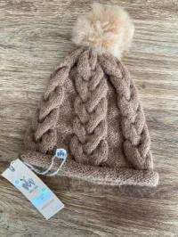 Alpaka-Mütze ECO braun