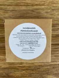 Alpaka-Keratin Seife Lavendel