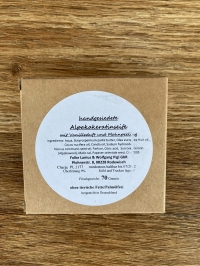 Alpaka-Keratin Seife Vanille