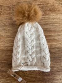 Alpaka-Mütze ECO weiß