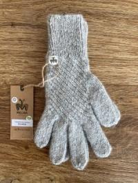 Alpaka-Handschuhe CALAMINA grau