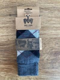 Alpaka-Socken BUSINESS (mit Aloe Vera) Größe 39 - 42