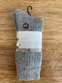 Alpaka-Socken EXTRA Größe 36 - 39, grau
