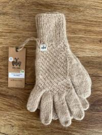 Alpaka-Handschuhe CALAMINA beige