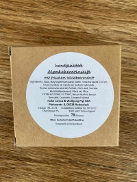 Alpaka-Keratin Seife Waldbeere